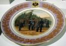 Military plate, Regimental Dessert Service, 1871