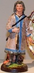 Statue of a Yakut Hunter, 1780-1790.