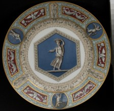 Plate, Raphael Service, late 19th century