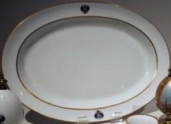 Platter, 1883 Coronation Service (Nicholas II edition)