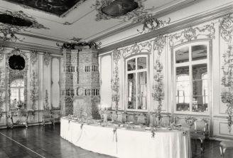 William C. Brumfield. Catherine Palace. Cavaliers' Dining Room.. 1988. Photograph.
