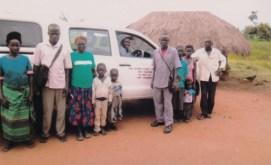 Besuch bei den Pflegefamilien