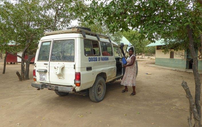 Agnes Kivumbi - Leiterin St. Daniel Comboni Krankenstation