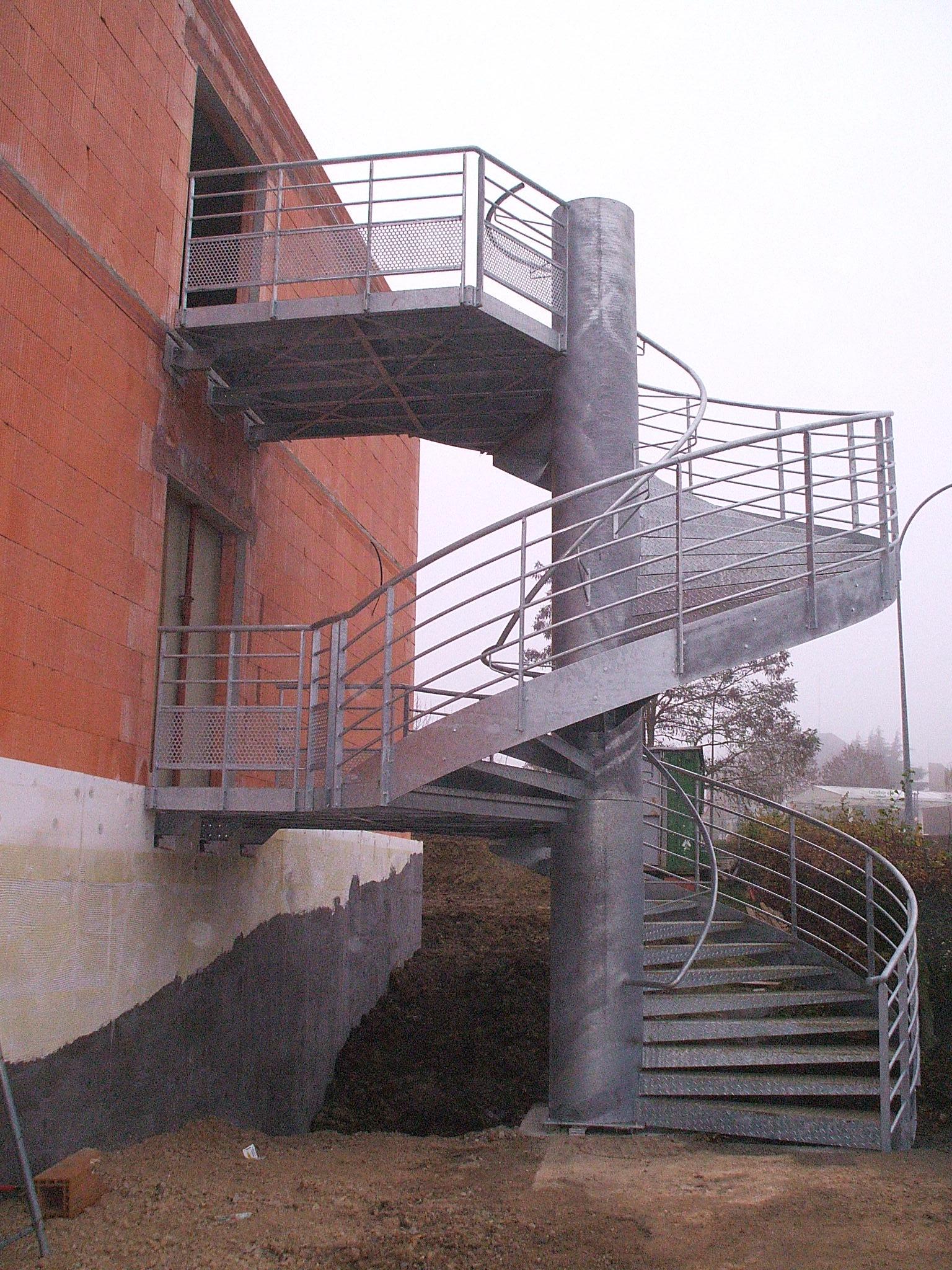 installation escalier galva