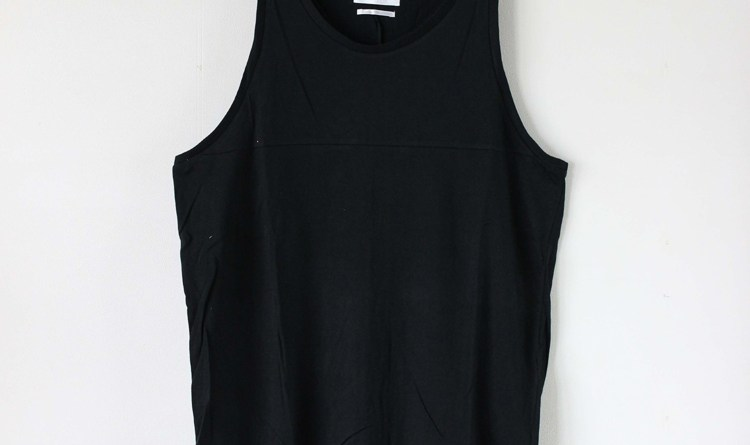 LONG LENGTH TANK BLACK 1