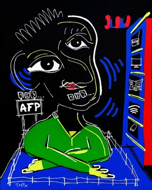 AFP info Discount - original - copy - painting neo expressionism - tmpx