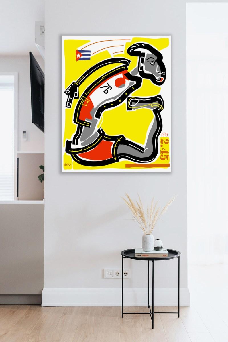 Sotomayor - originale - peinture néo expressionnisme - tmpx
