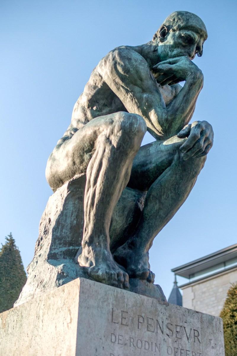 Le Penseur de Rodin - tmpx