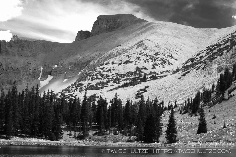 Lake Below Peak by T.M. Schultze