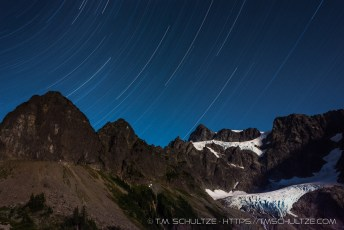 Mt Shuksan Star Trails