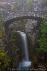 Christine Falls in Fog