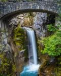 Christine Falls, Mt. Rainier National Park, by T.M. Schultze