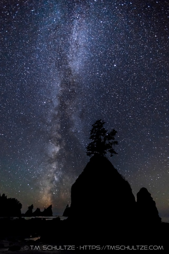 Point of Arches and Milky Way by T.M. Schultze