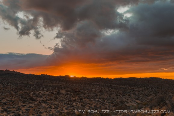 Sunrise From Mastodon Peak, by T.M. Schultze