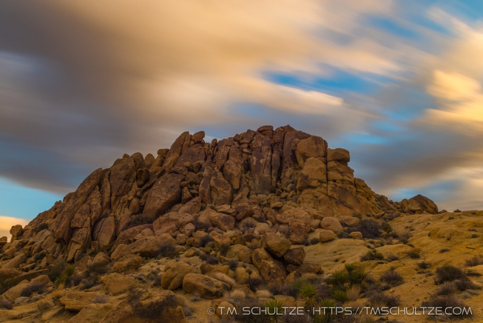 Cloudscape, Mastodon Mountain, Joshua Tree, by T.M. Schultze