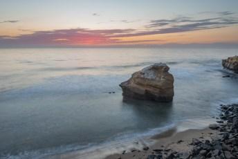 Ross Rock Sunset Glow