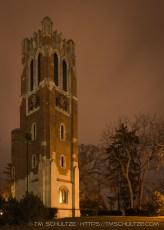 Beaumont Tower at Night
