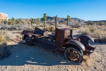 Rusty Truck, Joshua Tree, Daytime