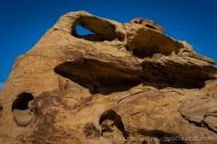 Arch in Muddy Mountain Wilderness, by T.M. Schultze