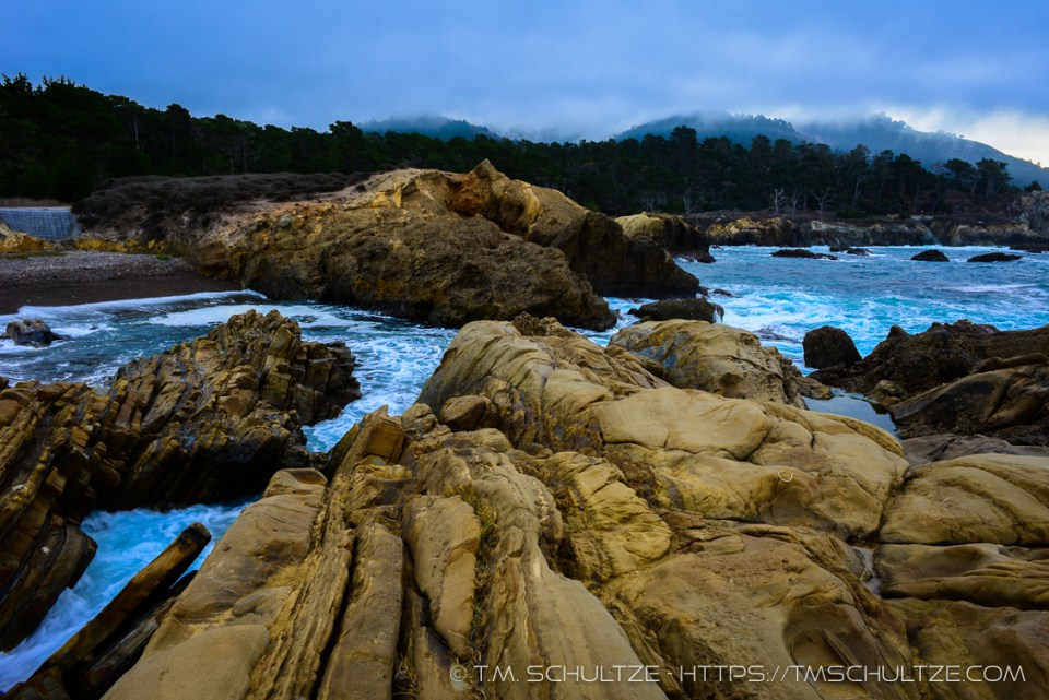 Point Lobos Storm Morning by T.M. Schultze