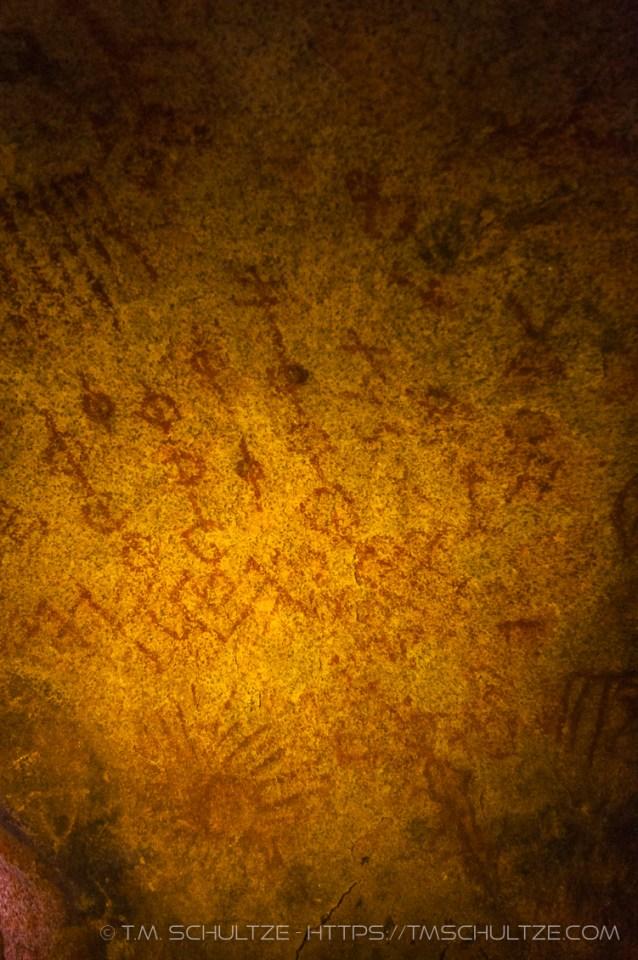 Hidden Cave by T.M. Schultze