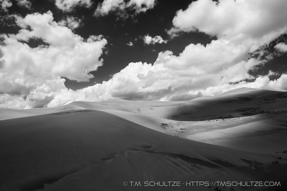Great Sand Dunes - Light and Shadow No. 1