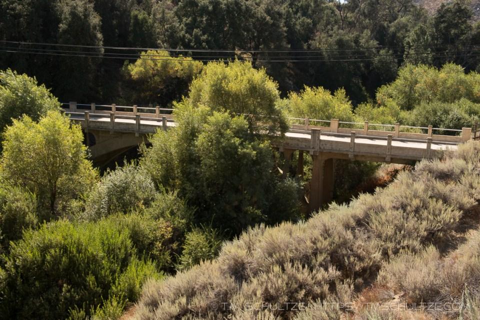 Old Pine Valley Creek Bridge by T.M. Schultze