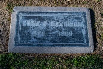 Eddie Davidson Gravesite