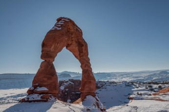 West View of Delicate Arch