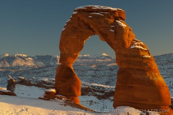 Delicate Arch, Winter