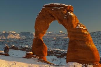 Delicate Arch, Winter