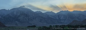 Smoke Over Mt. Whitney
