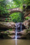 Cedar Falls, Hocking Hills State Park, Ohio, by T.M. Schultze