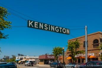 Kensington Neighborhood Road Sign