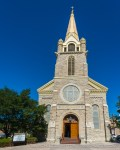 Trinidad Holy Trinity Catholic Church, Color, by T.M. Schultze