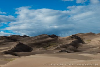 Great Sand Dunes Shadows