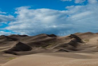 Great Sand Dunes Shadows