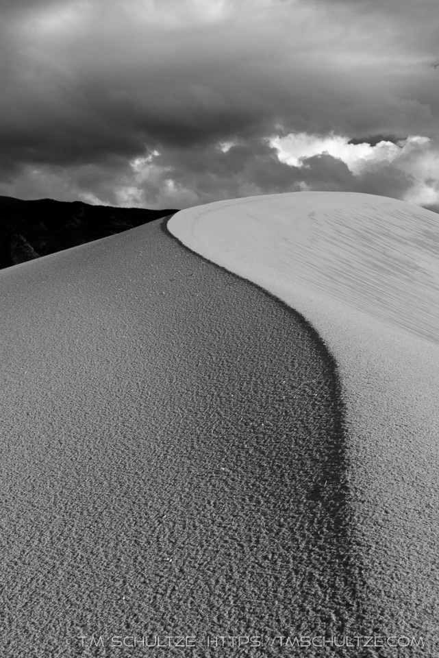 Wind Ridge, Great Sand Dunes, by T.M. Schultze