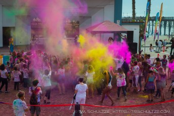Festival Color Throw