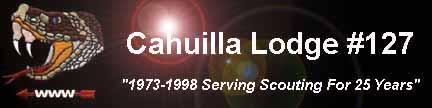 Cahuilla Lodge 25th Anniversary