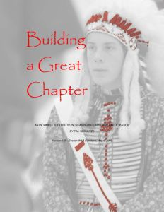 2006: Building A Great Chapter 1.0