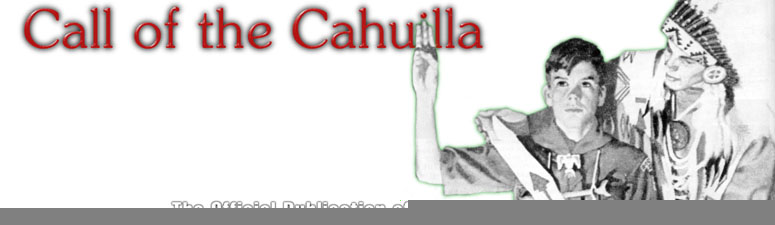 Call of the Cahuilla White Background
