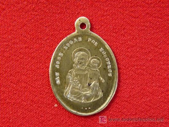 St. Joseph spanish medal
