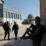 Police on Temple Mount