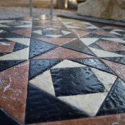 Opus Sectile reconstruction at the Temple Mount Sifting Project