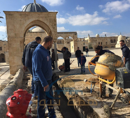 Illegal Construction by the Waqf on the Temple Mount
