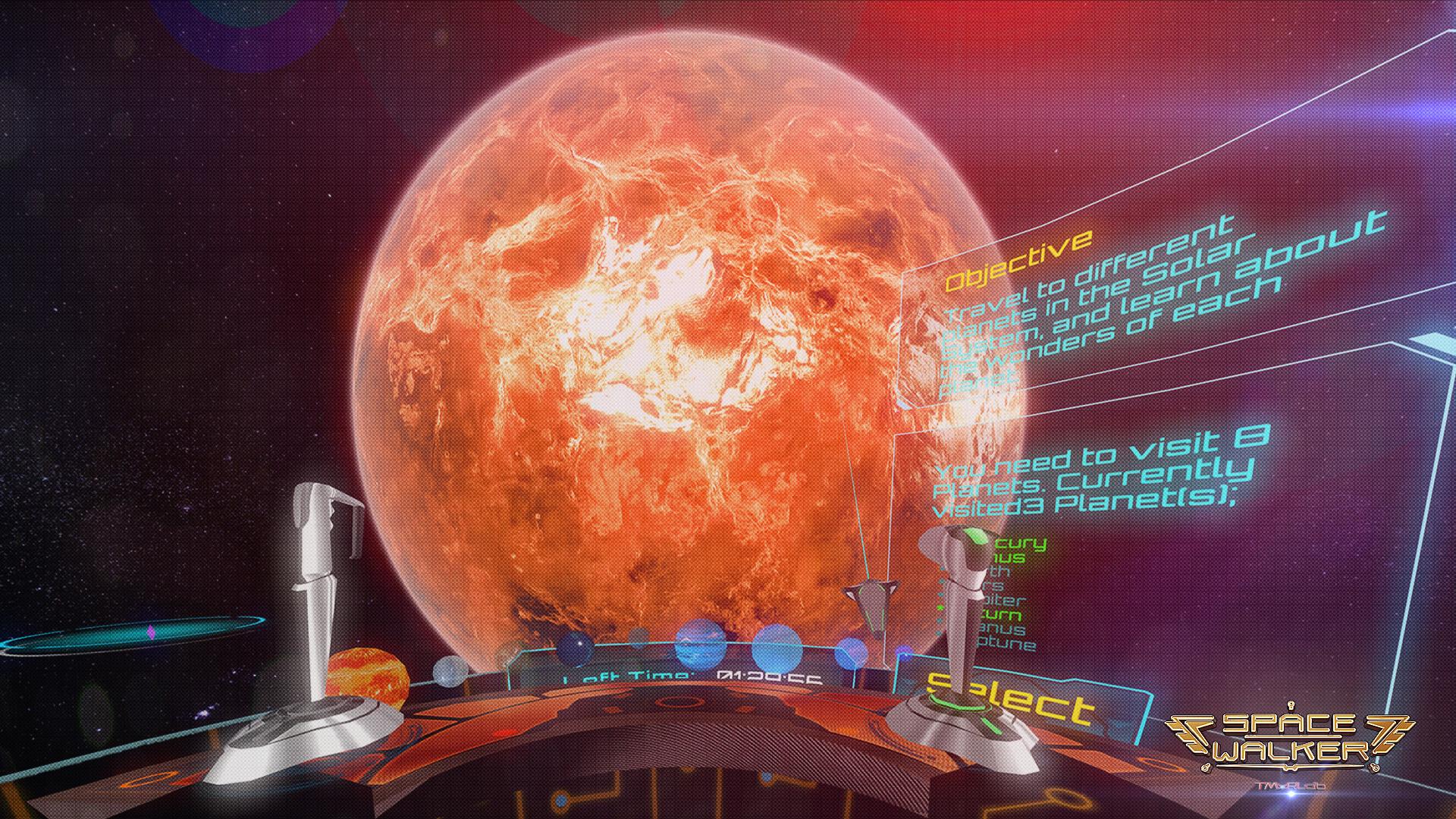 space walker poster B-001