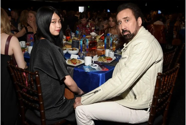 Nicolas Cage and Riko Shibata, Emma Bunton, other celebrities who got engaged or married in 2021