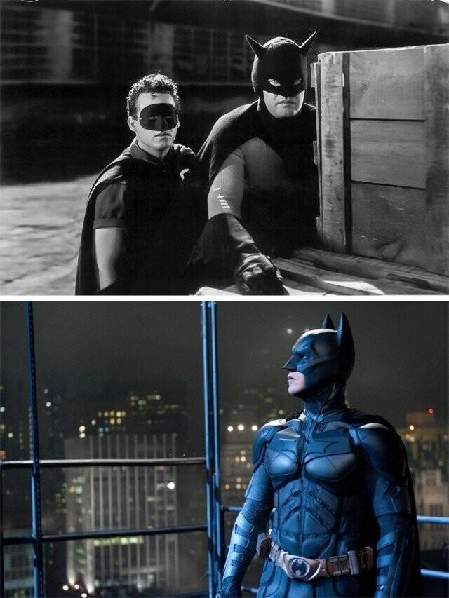 """""""بتمن"""" 1943 و """"شوالیه تاریکی"""" 2008"""