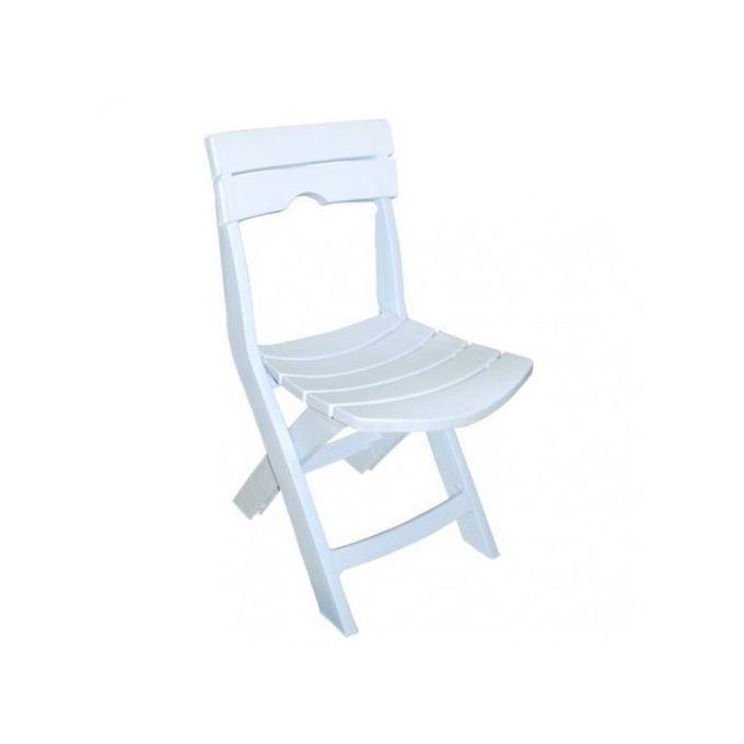 chaise pliable ruspina blanc